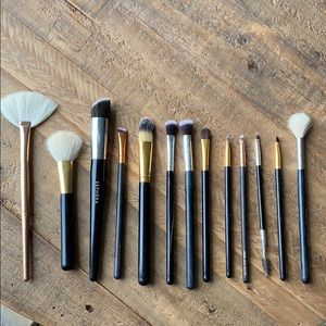 13 pcs full set make up brushes